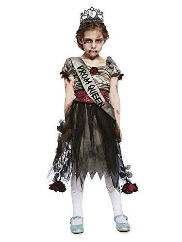 shoperama Prombie Queen Zombie Ballkönigin Teenager Mädchen Kostüm Abschlussball Prom Kinder, Kindergröße:158 - 12 bis 14 Jahre