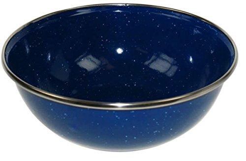 set-of-4-enamel-camping-bowls-picnic-bbq-walking-hiking-travel-durable-lightweight-bowl