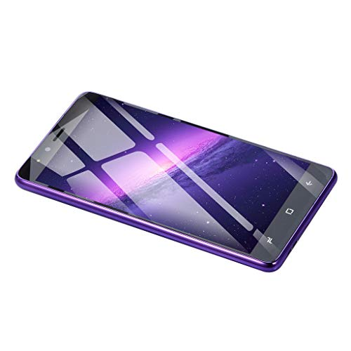 Smartphone Kompatibel mit Ultradünne Android 5.1 Dual Core,Nourich (5,0 Zoll) 512 MB + 4 G GSM, Dual SIM/Camera,Blau,Lila,Rot Mobiltelefon Mobile Phone Cellphone Smart Handy (Rot) (Unlocked Tmobile Gsm-telefone)