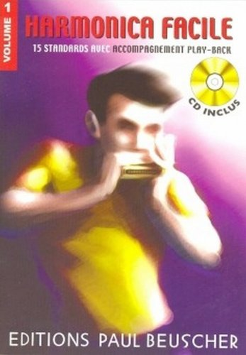 Partition : Harmonica facile vol.1 + CD