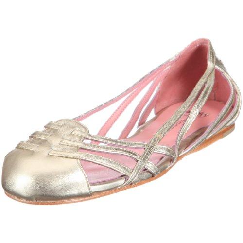 Fornarina AGATHE PEFAG7760WM91, Ballerine donna - Oro, 38 EU