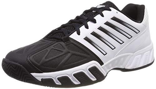 K-Swiss Performance Herren Bigshot Light 3 Tennisschuhe, Weiß/Schwarz m, 43 EU Light Herren Schuhe