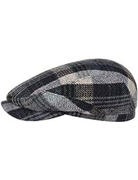 Stetson Coppola Belfast Woolrich Check Cappello Piatto Invernale Cappellino  in Lana 47970c35f0a6