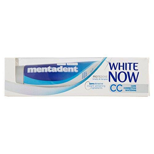 Mentadent White Now Cc 75 ml, 1 confezione da 4 pezzi