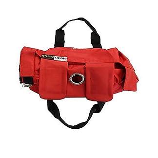 Kruuse Buster No Scratch Pet Examination Bag, 0-4 lb, Red 41S0EhdZFXL