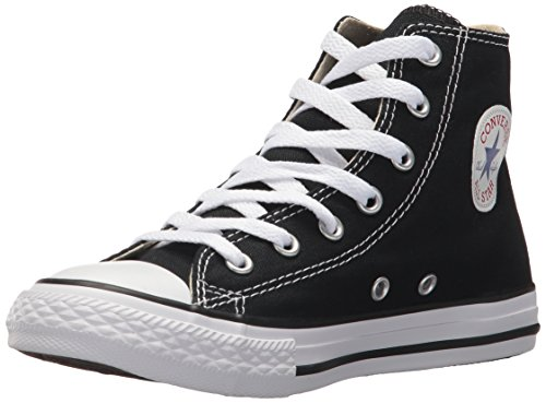 Converse Chuck Taylor All Star, Unisex-Kinder Hohe Sneakers, Schwarz (Black), 32 EU (Converse Basketball-schuhe)