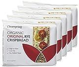 Clearspring Organic Original Rye Crispbread, 200g (Pack of 5)
