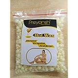 Preyansh Hair Removal Hard Body Wax Beans for Face, Arm, Legs (Multicolour, 100 g)