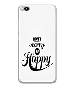 PrintVisa Designer Back Case Cover for Xiaomi Mi 5 :: Redmi Mi5 (Enjoy Happy)