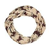 ZREAL Loop Schal Schals Halstuch mit Reißverschluss Pocket Christmas Style Soft Geschenk für den Winter