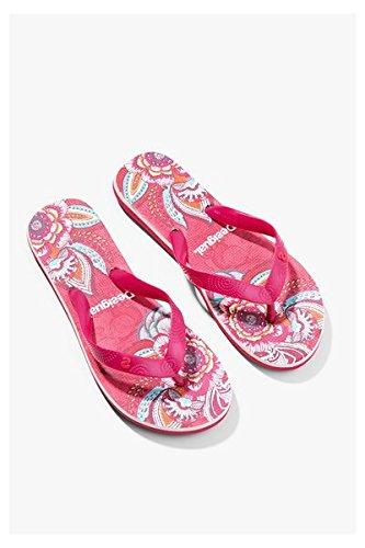 Sandales Desigual Flip Flop Rose