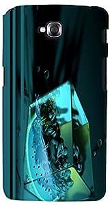 PrintVisa 3D-LGGPROLITE-D7651 Abstract Cube Women Case Cover for LG G Pro Lite