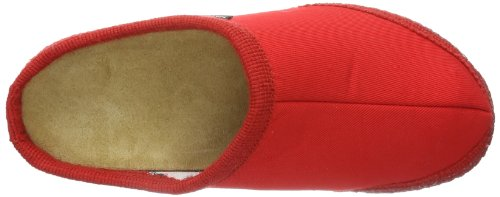 Haflinger 618026, Chaussons mixte adulte Rot (Rubin 411)