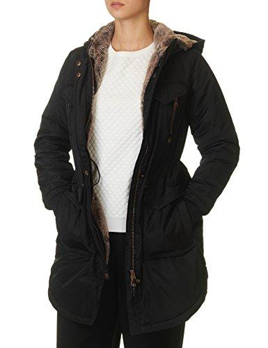 Garcia Damen Jacke U60099 Schwarz (black 60)