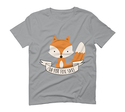 Oh For Fox Sake - Colour Men's Graphic T-Shirt - Design By Humans Opal