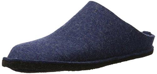 Haflinger Unisex-Erwachsene Flair Soft Pantoffeln, Blau (Jeans 72), 50 EU