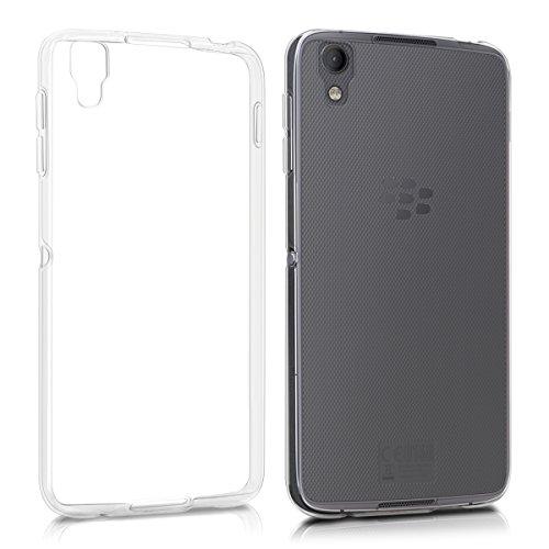 kwmobile Hülle für Blackberry DTEK50 - TPU Silikon Backcover Case Handy Schutzhülle - Cover klar - Handy-cover Blackberry Für