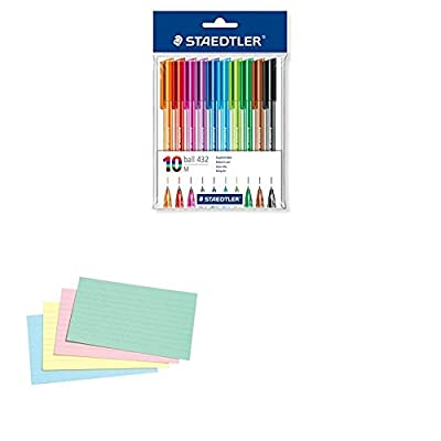 Staedtler Retractable Rainbow Ballpoint Pen - Assorted Colour : everything five pounds (or less!)