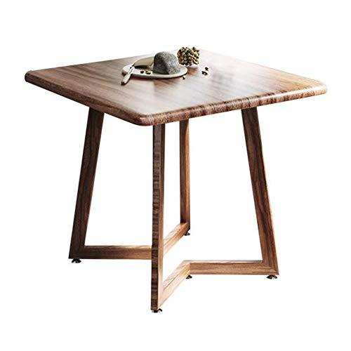 XUERUI Fußhocker & Ottomane Möbeltisch einfacher Stil Esstische Metallbeine Seitenkaffee-Esstische, Bürotisch, Konferenztische, Küchentische...