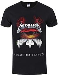 Metallica Master Of Puppets Tour 1986 T-Shirt schwarz