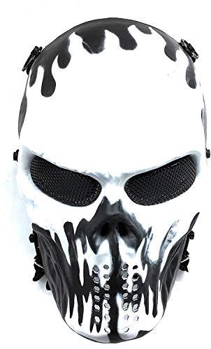 CS mascarilla protección Halloween Airsoft