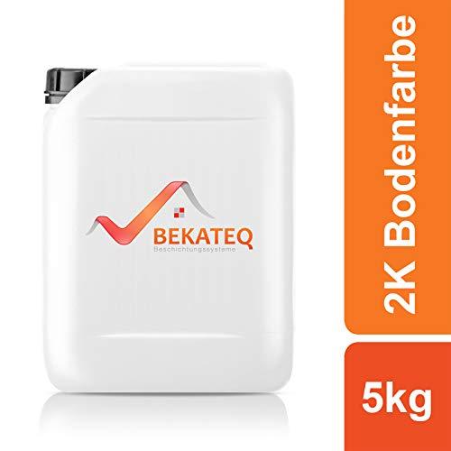 BEKATEQ 2K Epoxidharz Bodenbeschichtung BE-702 - RAL7035 Lichtgrau - 5KG
