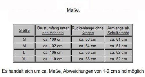 "Angesagte Herren ""Strickjacke M-9912"" Streifen Optik S&LU Hellgrau"