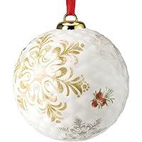 Hutschenreuther 02470-725702-27938, Pallina natalizia in porcellana, ø 9,4 cm