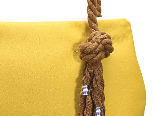 Gelbe Handtasche - 4