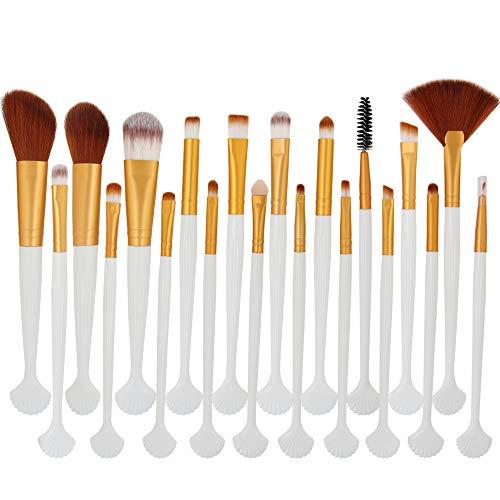 YCQUE 20 stücke Täglichen Kosmetik Make-Up Pinsel Set Rouge Lidschatten Pinsel Set Kit Foundation Brush, Eyeliner Pinsel, Mascara-Pinsel, Lippenpinsel, Concealer-Pinsel, Augenbraue-Pulver-Pinsel