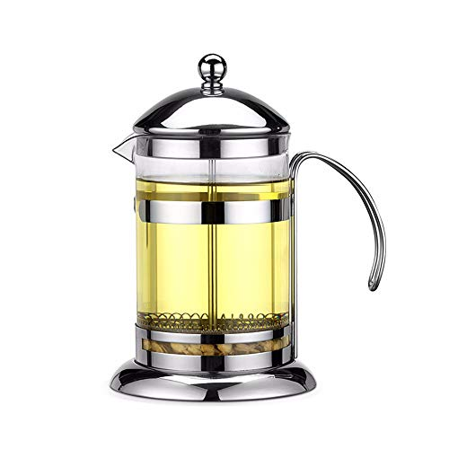 Coffee Pot Household Heat-resisting Glass Multipurpose Make Coffee Jasmine Tea Milk Bubble - 800ML ()