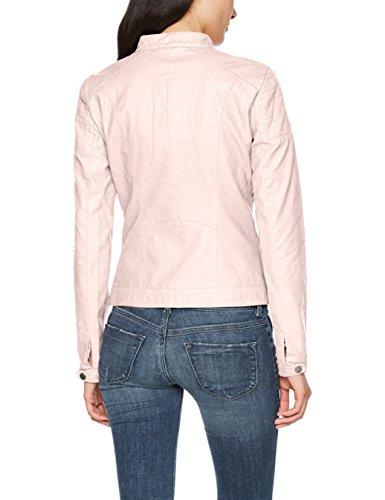 ONLY Damen Jacke Onlsteady Faux Leather Jacket Cc Otw Rosa (Strawberry Cream Strawberry Cream)