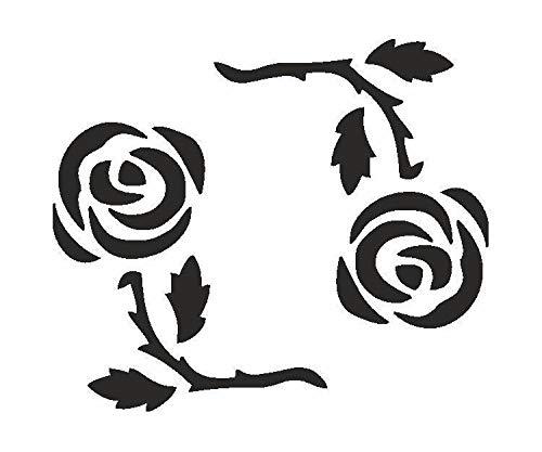 Selbstklebende Schablonen - Rosa Kreis, Eulenspiegel, EU 105955 -