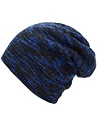 1fcfe2b979f Knitted Hat Winter Hats for Women Men Skullies Beanies Mask Striped Beanie  Gorros Bonnet Warm Baggy Soft…