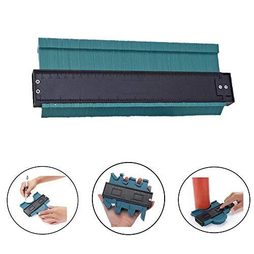 10''/250mm Konturenlehre - Konturmessgerät - Profillehre Konturenlehre, Multifunktionales Kunststoff Irreguläres Duplikator Werkzeug für präzise Kopien und einfaches Schneiden