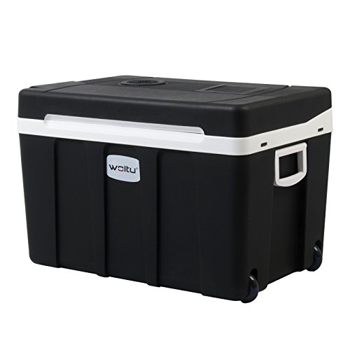 WOLTU KUE003sz Glacière électrique Mini Réfrigérateur 50L Isotherme Chaud/Froid, 12V et 230V...