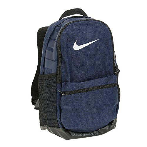 Nike Nk Brsla M Bkpk Mochila, Hombre, Azul (Midnight Navy/Black / White), Talla Única