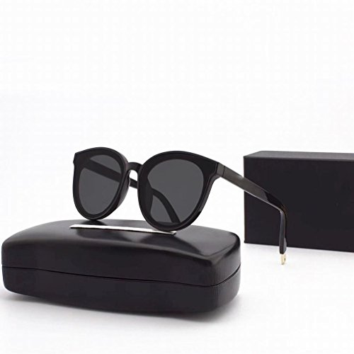 YC Gafas de Sol Polarizadas Redondas Del Mar Azul Gafas de Sol de Moda,UN