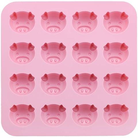 El molde del chocolate Suncraft (Pink Piggy) SIG-52 (Jap?n importaci?n / El paquete y el manual est?n escritos en japon?s)