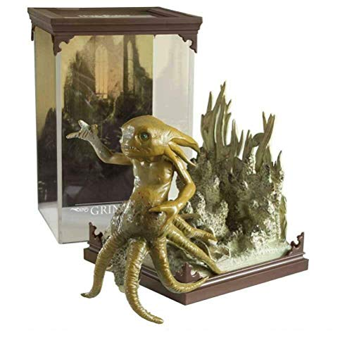 Harry Potter - Magical Creatures - Figur Statue - Grindeloh Grindylow - Geschenkbox