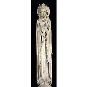 Paris - Musée du Louvre - Une reine (la reine de Saba ?) - Marque-page 5 x 17 cm