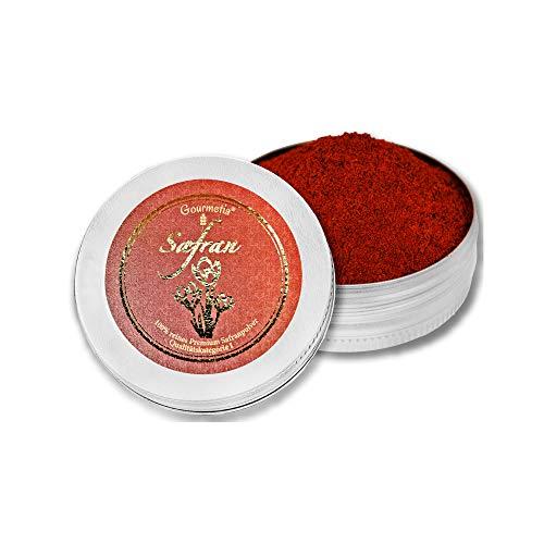Gourmetia Safran gemahlen, Safranpulver in Premium Qualität 10 Gramm