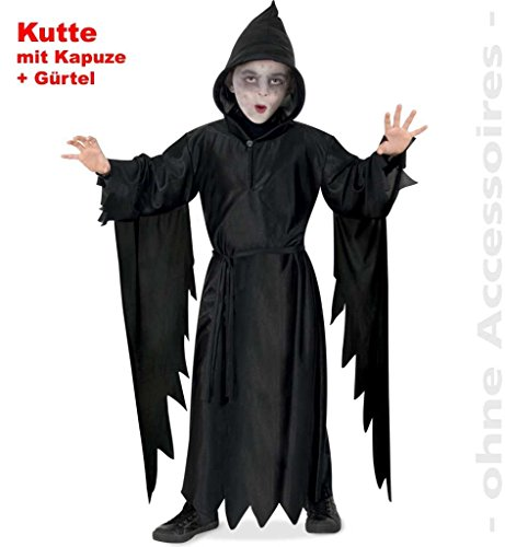 Horror Scream Halloween Gespenst Kinder Kostüm Gr ()