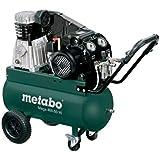 Metabo 601536000 Kompressor MEGA 400-50 W | + 3 Universal-Kupplungen (Ansaugleistung: 400 l/min | Füllleistung 300 l/min | 10 bar / 2,2 kW | Kesselgröße 50 l | 73 KG)
