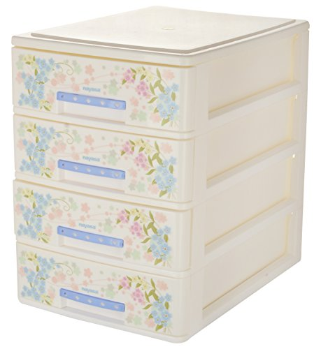Nayasa Tuckins 14, 4 Piece Drawer, Deluxe, White