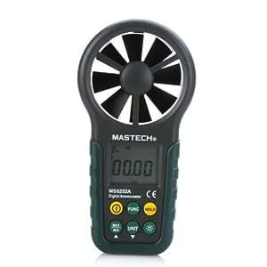 dodocool Portable anémomètre numérique portable LCD électronique de vitesse du vent Air Volume de mesure compteur rétro-éclairage pour la planche à voile, voile, pêche, cerf-volant et de l'alpinisme, etc