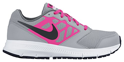 Nike Downshifter 6 (Gs/ps), chaussures de sport fille Gris/rose