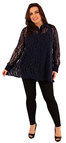 Chocolate Pickle ® Manches longues Robe tunique Navy