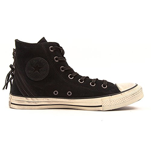 Converse Chuck Taylor All Star Femme Sparkle Wash Tri Zip Hi, Chaussures de Gymnastique Mixte Adulte Noir - nero (Sparkle Wash Black)