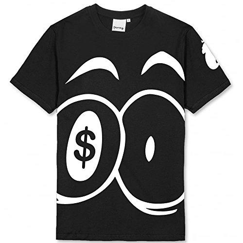 Money Herren T-Shirt, Einfarbig weiß weiß Schwarz